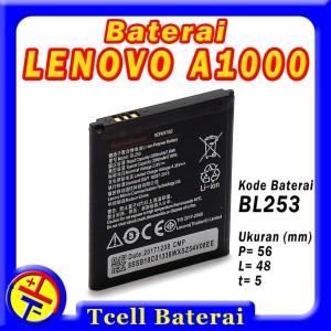 Harga baterai lenovo a1000 bl253 batre batere batrai | HARGALOKA.COM