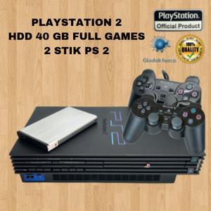 Harga ps 2 playstation 2 matrix hdd 40 gb full games 2 stik soft   HARGALOKA.COM