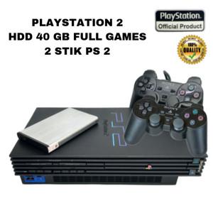 Harga ps 2 playstation matrix   hardisk 40 gb 2 stik soft   HARGALOKA.COM
