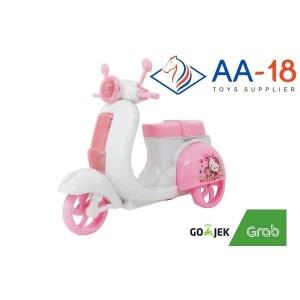Harga mainan sepedah holla kitty motorcycle holla kitty promo | HARGALOKA.COM