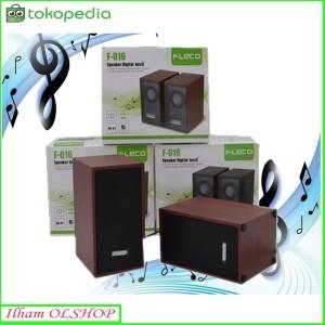 Harga speaker fleco f 016 speaker komputer laptop | HARGALOKA.COM