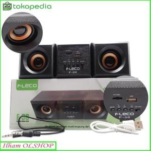 Harga speaker komputer hp fleco f 30 super bass bluetooth | HARGALOKA.COM