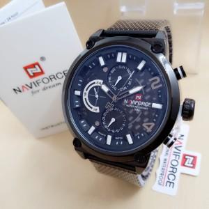Harga naviforce 9068   jam tangan pria murah   stainless steel   analog | HARGALOKA.COM