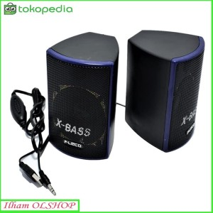 Harga speaker aktif fleco f 018 speaker mini komputer | HARGALOKA.COM