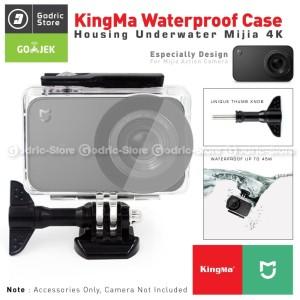 Harga xiaomi mijia action camera 4k waterproof case casing underwater | HARGALOKA.COM