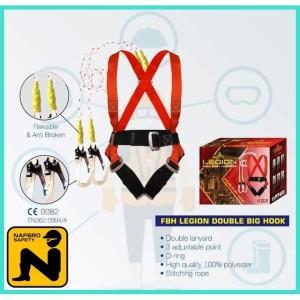 Harga full body harness double big hook gosave legion safety   HARGALOKA.COM