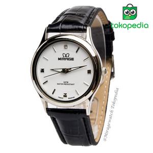 Harga terbaru jam tangan kulit wanita mirage original ll series   white   putih   HARGALOKA.COM