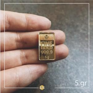 Harga model terbaru tiruan logam mulia 5 gr dummy replika emas | HARGALOKA.COM