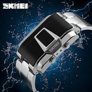 Harga jam tangan led skmei fiction 1179 furla hitam original tahan air 5atm     HARGALOKA.COM