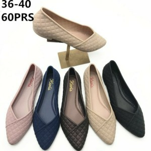 Harga sepatu flat sandal jelly murah | HARGALOKA.COM