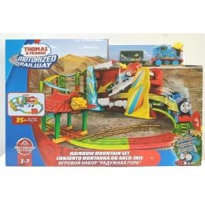 Harga thomas amp friends track set rainbow mountain set motorized railway   HARGALOKA.COM