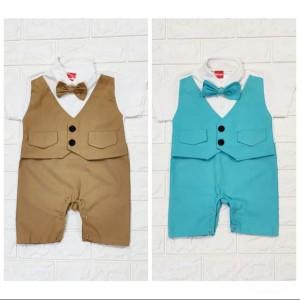 Harga joji tuxedo tuxedo bayi murah baju kondangan bayi laki | HARGALOKA.COM
