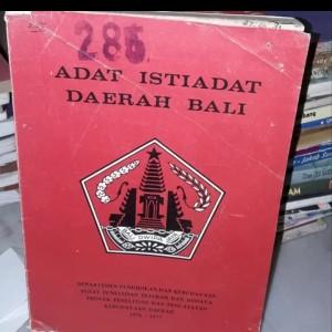 Harga buku original   adat istiadat daerah | HARGALOKA.COM