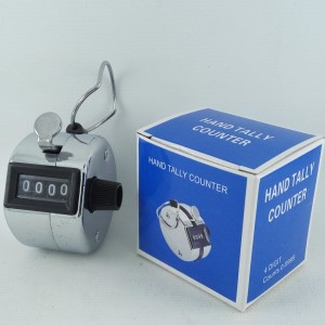 Harga hand tally counter 4 digit tasbih besi tasbih | HARGALOKA.COM