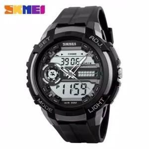 Harga promo skmei 1202 original jam tangan pria skmei digital analog   HARGALOKA.COM