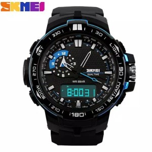 Harga promo skmei 1081 original jam tangan pria skmei digital analog   HARGALOKA.COM