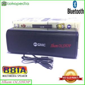 Harga speaker bluetooth mini portabel gmc 881a usb radio multimedia | HARGALOKA.COM