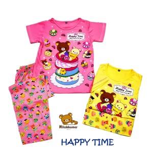 Harga happy time setelan baju tidur baju rumah anak cewek anne | HARGALOKA.COM