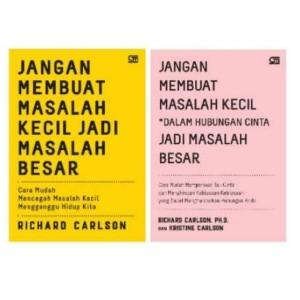 Harga buku jangan membuat masalah kecil jadi besar richard | HARGALOKA.COM