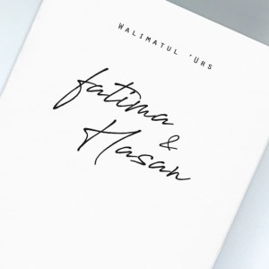 Katalog Undangan Pernikahan Simple Paper Plane 58 Katalog.or.id