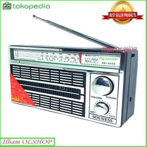 Harga radio jadul murah souness sni 4250 radio am fm | HARGALOKA.COM