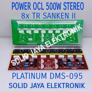 Harga kit power amplifier sanken ii 500w stereo ocl dms 095 dms 095   HARGALOKA.COM