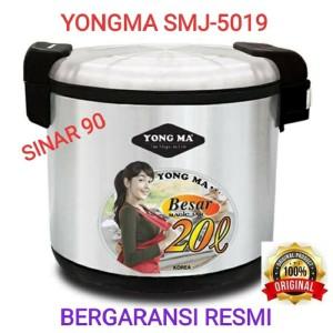 Harga magic jar yongma smj 5019 yongma pemanas nasi 20 | HARGALOKA.COM