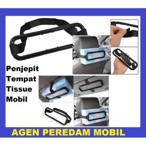 Harga Tissue Paper Box Car Holder Penjepit Tisiu Mobil Tempat Tisu Kaitan Katalog.or.id