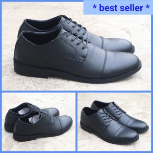 Harga sepatu kerja derby harmel sepatu pantofel derby harmel   | HARGALOKA.COM