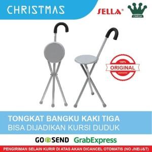 Harga tongkat kursi duduk kaki tiga pengiriman | HARGALOKA.COM