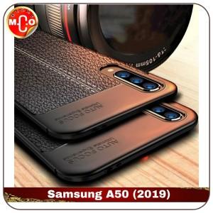 Harga samsung galaxy a50 a 50 soft leather case casing sarung cover hp   | HARGALOKA.COM
