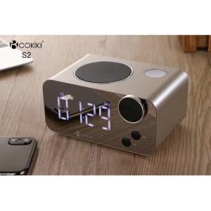 Harga speaker bluetooth cokike jbl bose radio fm jam meja digital   HARGALOKA.COM