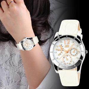 Harga jual jam tangan analog wanita bulove skmei diamond 6911 putih original     HARGALOKA.COM