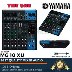 Harga original mixer yamaha mg 10 xu garansi resmi yamaha indonesia | HARGALOKA.COM