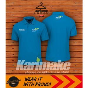 Harga polo shirt kaos polo bank syariah mandiri kaos perusahaan     HARGALOKA.COM