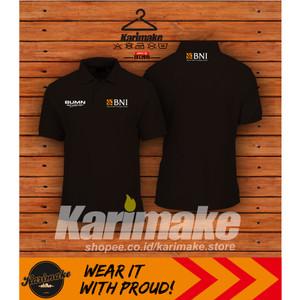Harga polo shirt kaos polo bank bni 46 kaos perusahaan     HARGALOKA.COM