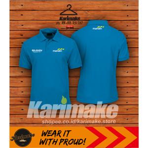 Harga polo shirt kaos polo bank mandiri kaos perusahaan     HARGALOKA.COM