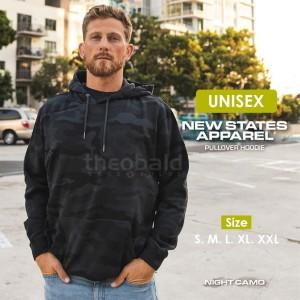 Harga new states apparel 9500 jaket hoodie night camo size s m l xl xxl   night camo | HARGALOKA.COM