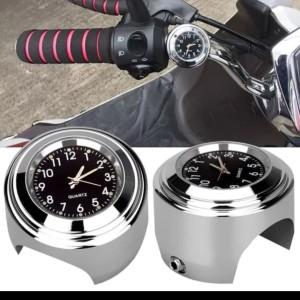 Harga jam motor aksesoris stang sepeda waterproof anti air   HARGALOKA.COM