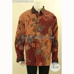 Harga baju batik pria gemuk mewah panjang tulis furing size xxxl | HARGALOKA.COM