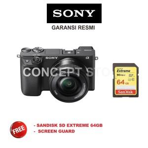 Harga sony alpha a 6400 kit 16 50 a6400 kit 16 50 mirrorless camera | HARGALOKA.COM