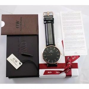 Harga jam tangan dw classic black original sheffield rose gold | HARGALOKA.COM