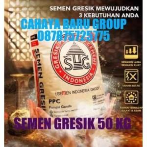 Harga semen gresik 50 kg 160 sak area tgr bekasi bogor depok | HARGALOKA.COM