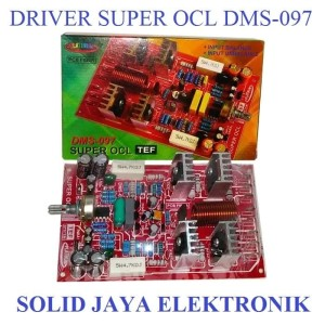 Harga kit driver super ocl power amplifier tef socl dms097 dms 097 dms   HARGALOKA.COM