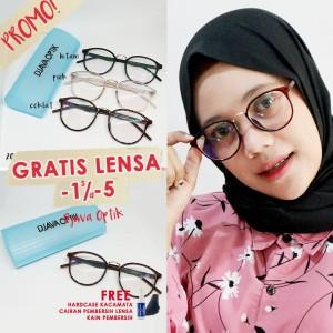 Harga frame kacamata guess 209 murah wanita pria trendy lensa baca | HARGALOKA.COM