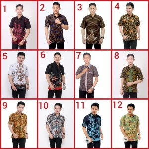 Harga kemeja batik pria baju batik murah grosir pekalongan solo jogja | HARGALOKA.COM