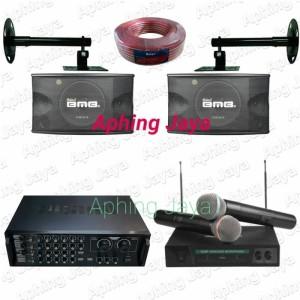 Harga paket karaoke sound system speaker bmb 10inch amplifier ma 1600   HARGALOKA.COM