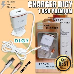 Harga charger digy 1 usb | HARGALOKA.COM