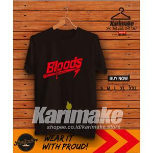 Harga kaos baju bloods knife kaos distro   | HARGALOKA.COM