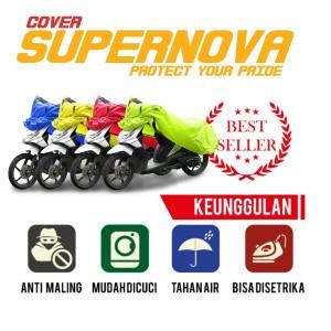 Harga body cover motor vario mio beat scoopy xeon soul fino xride supra   hijau | HARGALOKA.COM